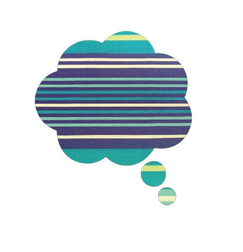 Thought bubble -'horizon'