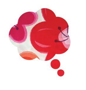 Thought bubble -'pop flower'