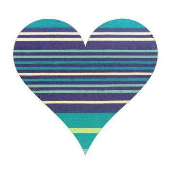 Heart pin board - 'horizon'