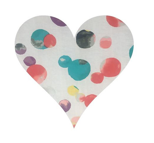 Heart pin board - 'abstract'
