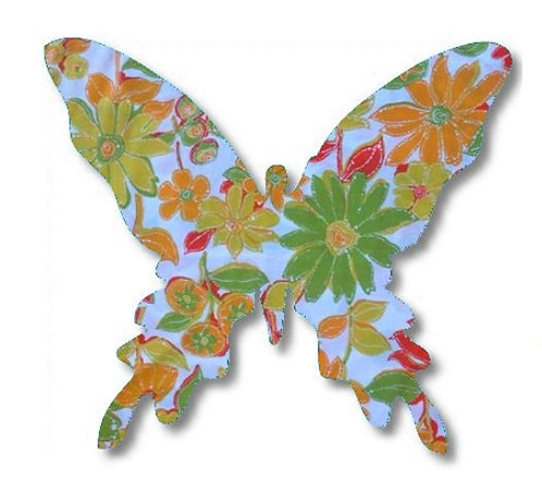 Butterfly pin board - 'sunshine'