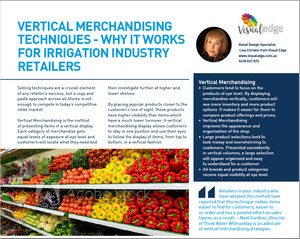 Vertical Merchandising and why it works