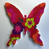 butterfly shaped pin board