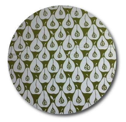Circle pin board 'pear party'