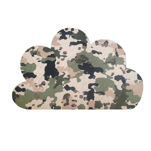 Cloud pin board - 'army issue'