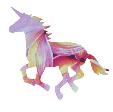 Unicorn or horse pin board - 'franjipanni'