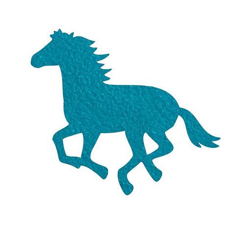 Unicorn or horse pin board - 'teal'