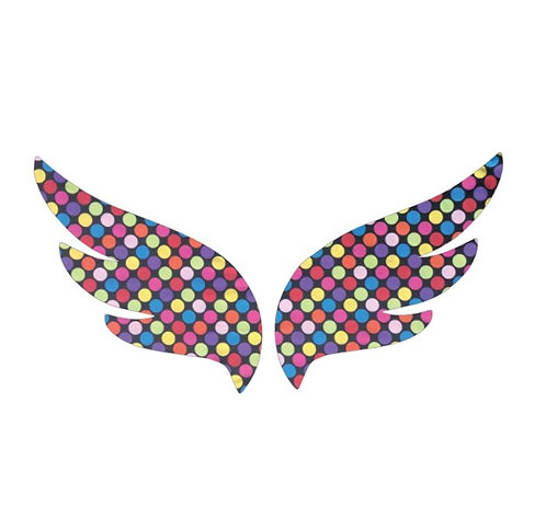 Pair of wings pin board 'bling'
