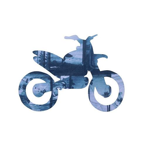 Stunt Cycle pin board - 'surfilm'