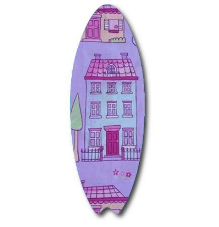 Surfboard pin board - 'chalet'