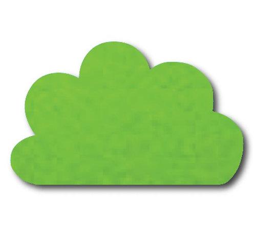Cloud pin board - 'lime'