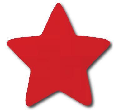 Star pin board - 'red'