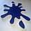 Thumbnail: Splat pin board - 'royal blue'