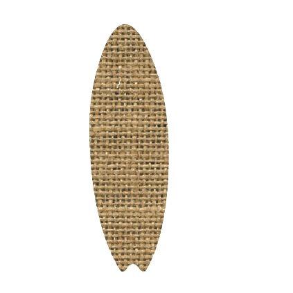 Surfboard pin board - 'sack'