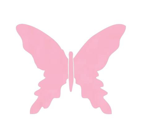 Butterfly pin board - 'soft pink'
