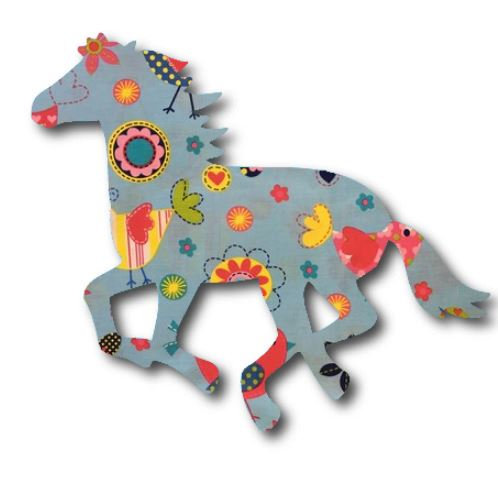 Unicorn or horse pin board - 'happy place'