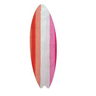 Surfboard pin board - 'pop stripe'