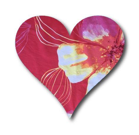 Heart pin board - 'bloom'