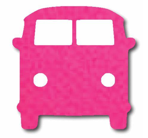 Kombi pin board - 'hot pink'