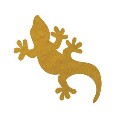 Gecko pin board - 'yellow'
