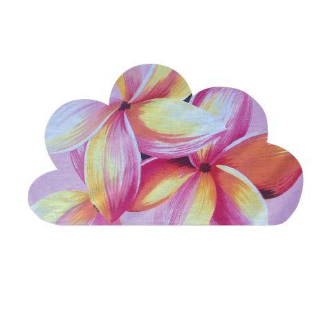 Cloud pin board - 'frangipani'