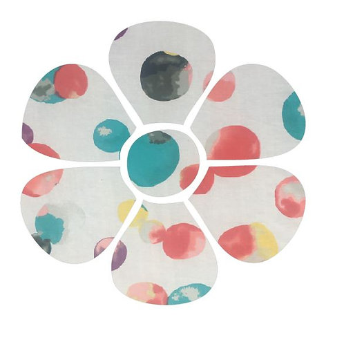 Flower pin board - 'abstract'