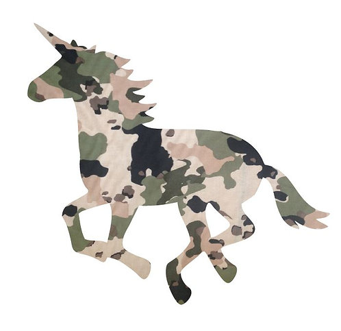 Unicorn or horse pin board - 'army issue'