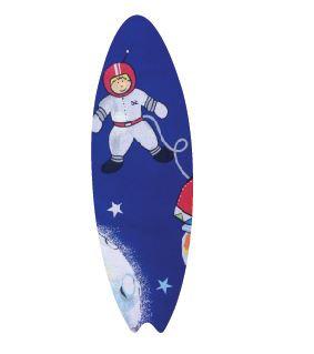 Surfboard pin board - 'space port'
