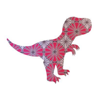 T- Rex - pink daisy