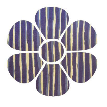 Flower pin board - 'blue poles'