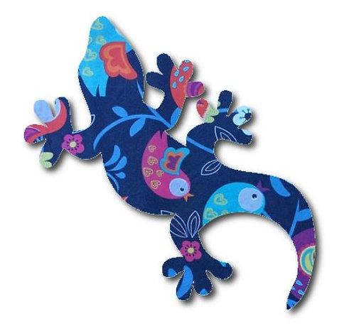 Gecko pin board - 'birdie'
