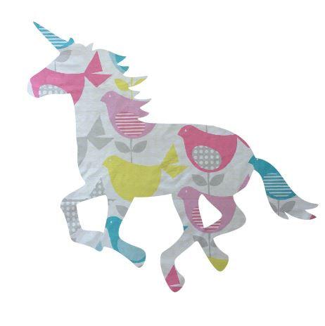 Unicorn or horse pin board - 'birdy num'