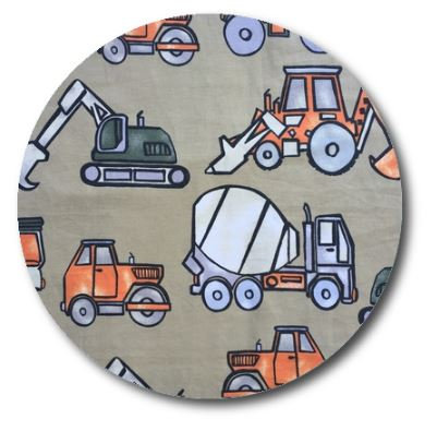 Circle pin board 'truckin'