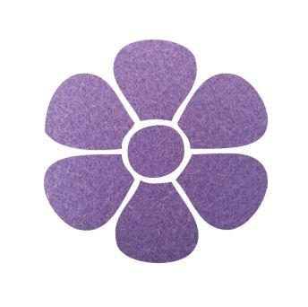 Flower pin board - 'mauve'