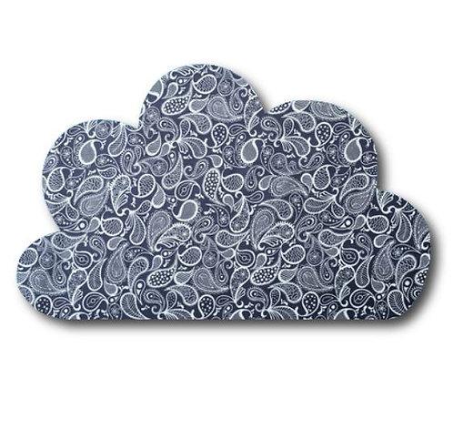Cloud pin board - 'paisley'
