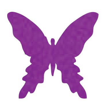 Butterfly pin board - 'purple'