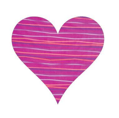 Heart pin board - 'candy'