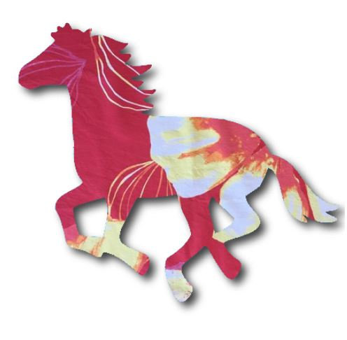 Unicorn or horse pin board - 'bloom'