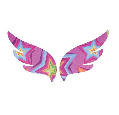 Pair of wings pin board 'starburst'
