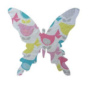Butterfly pin board - 'birdie num'