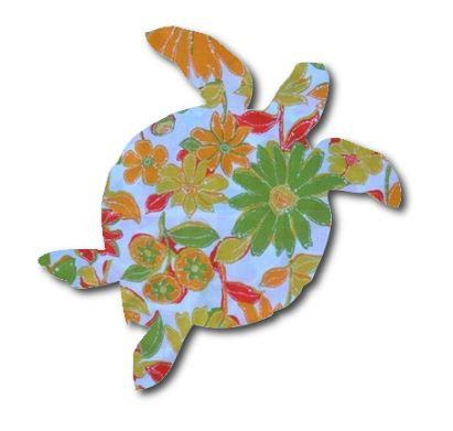 Turtle pin board - 'sunshine'