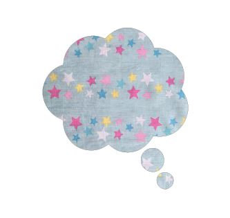 Thought bubble -'twinkle'
