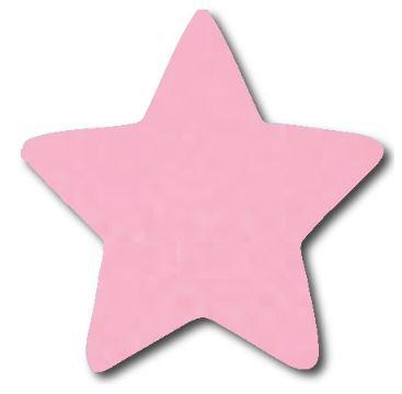 Star pin board - 'pale pink'
