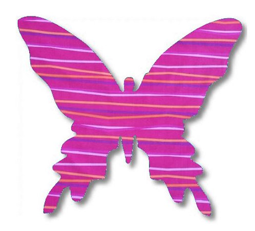 Butterfly pin board - 'candy'