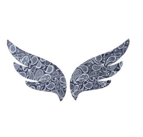 Pair of wings pin board 'paisley'