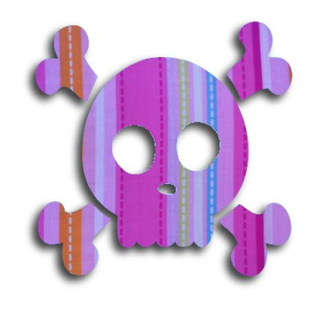 Skull & Crossbones pin board - 'dash'