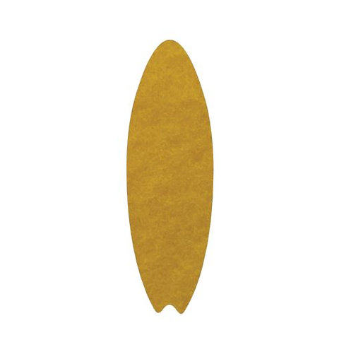 Surfboard pin board - 'yellow'