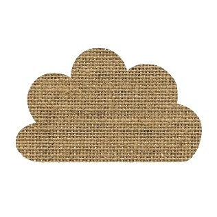 Cloud pin board - 'sack'