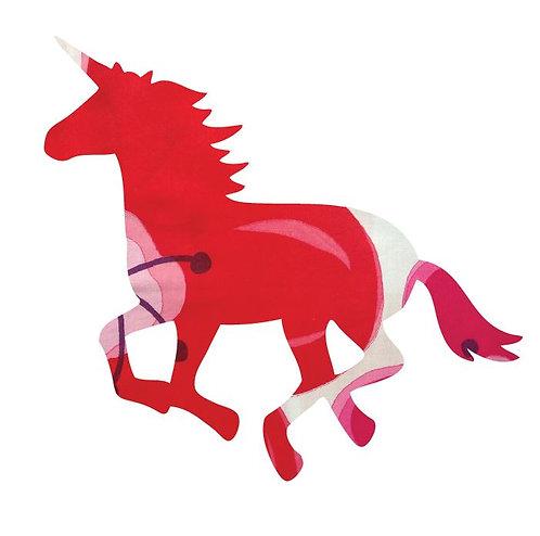 Unicorn or horse pin board - 'pop flower'