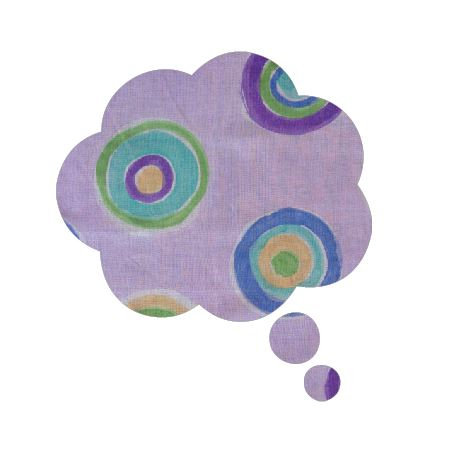 Thought bubble -'lilac b'